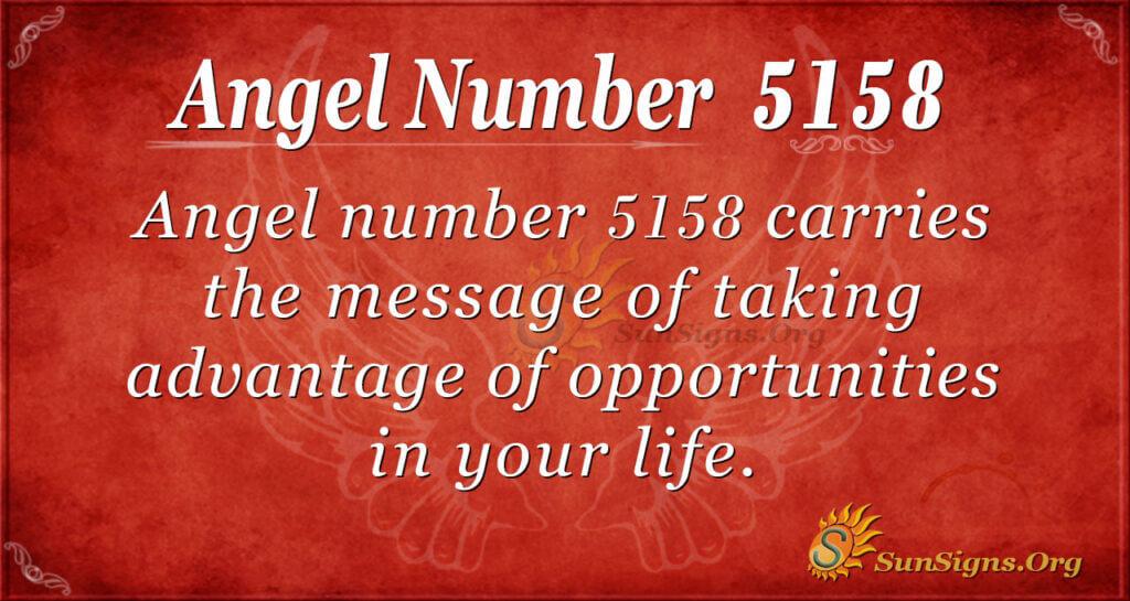 5158 angel number