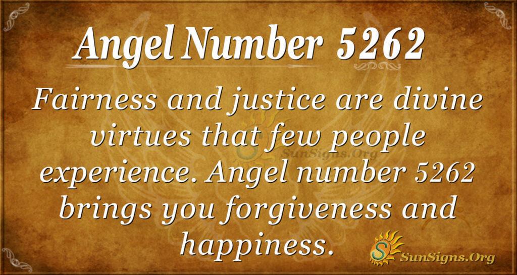 5262 angel number