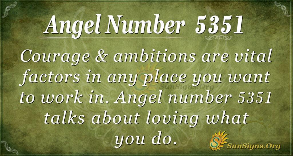 5351 angel number