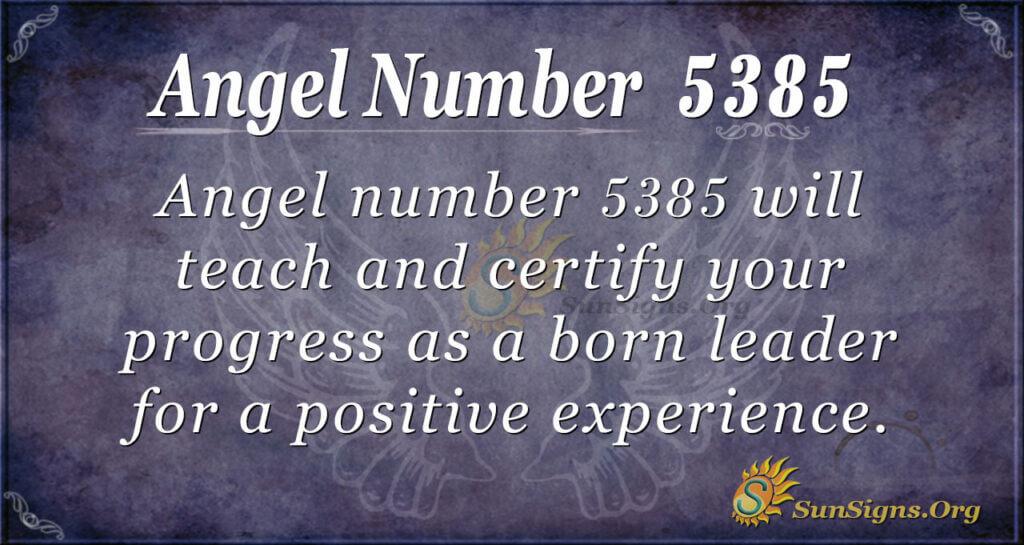 5385 angel number