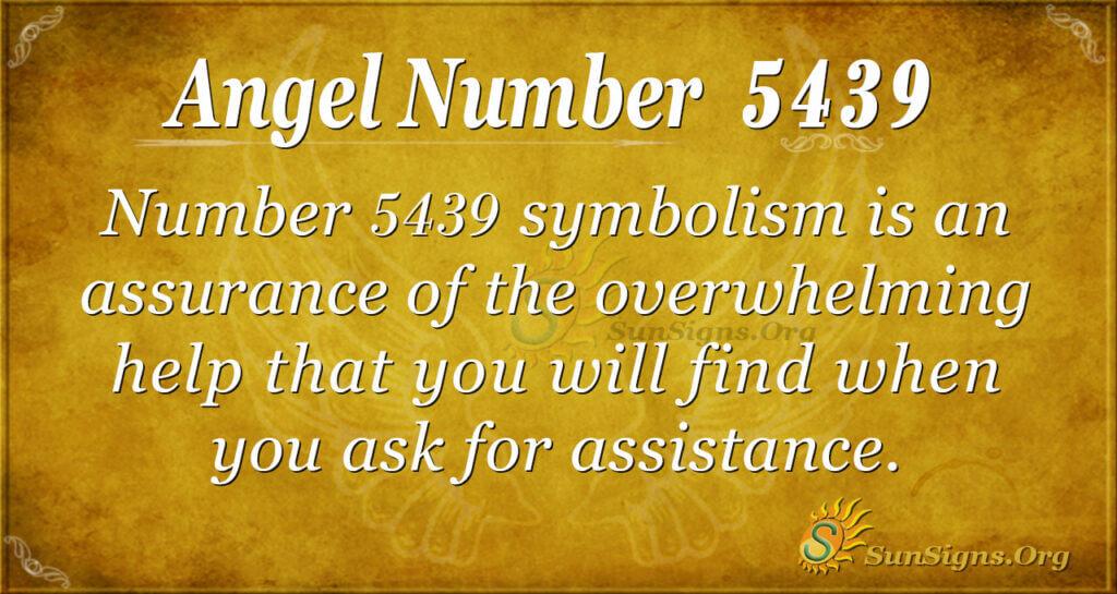 5439 angel number