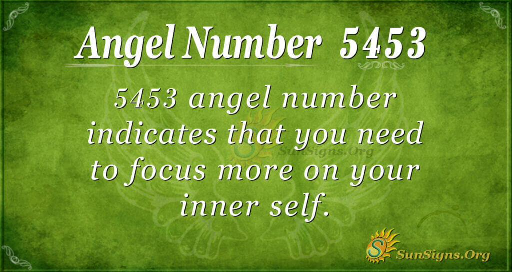 5453 angel number
