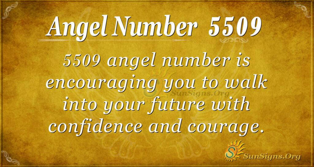 5509 angel number