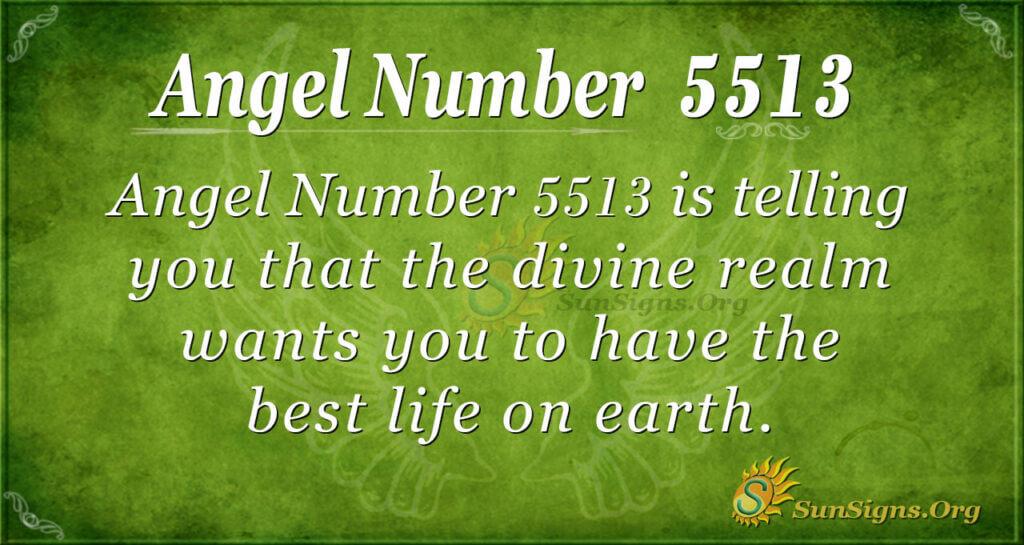 5513 angel number