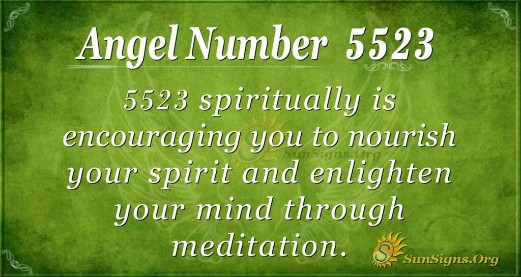5523 angel number