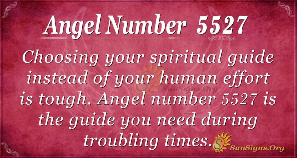 5527 angel number