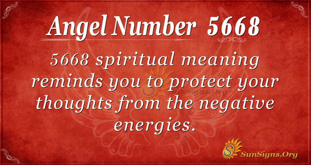 5668 angel number