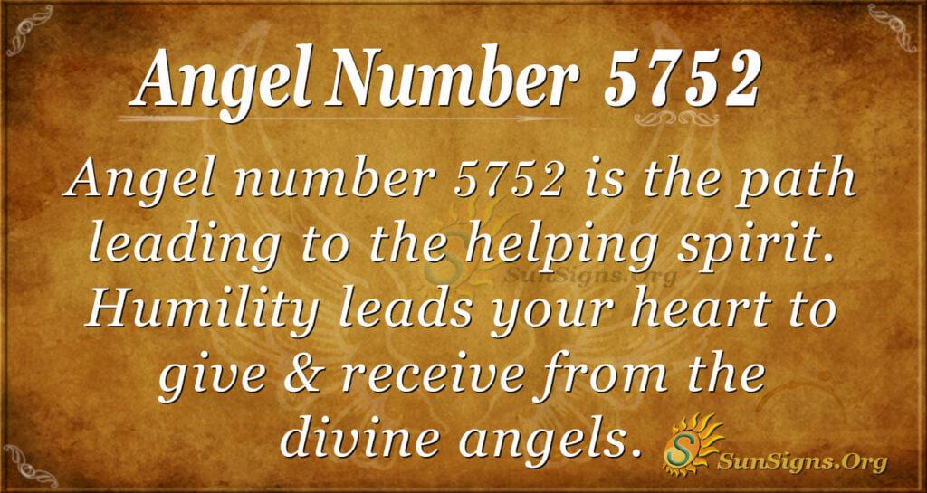 5752 angel number