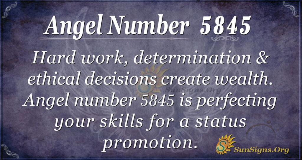 5845 angel number