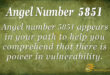 5851 angel number