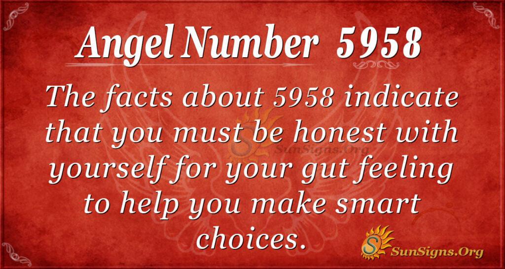 5958 angel number