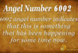 6002 angel number