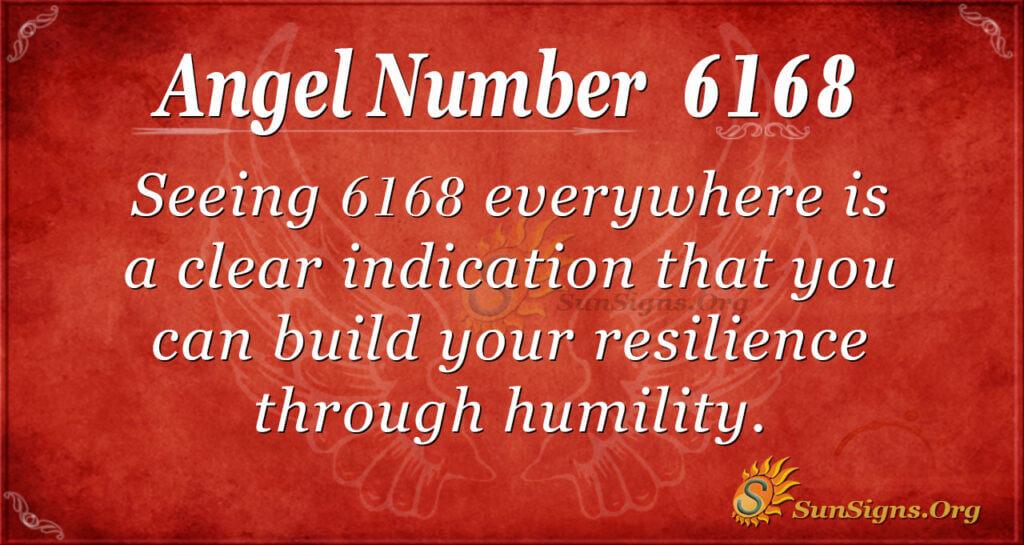 6168 angel number