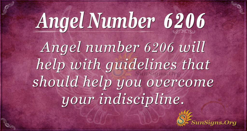 Angel Number 6206