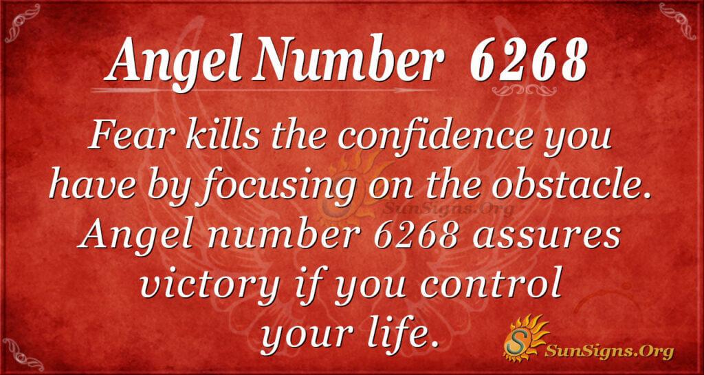 Angel Number 6268