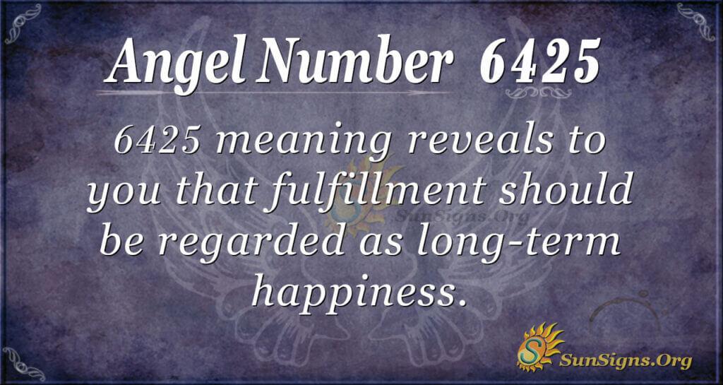 6425 angel number