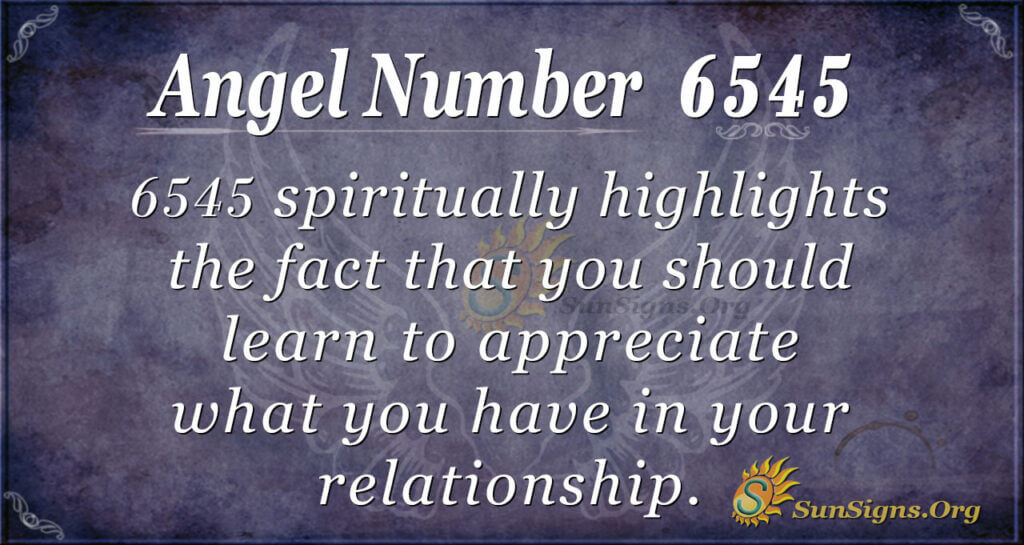 6545 angel number