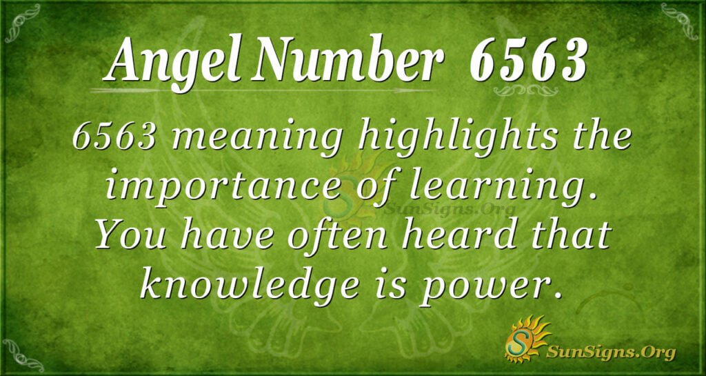 6563 angel number
