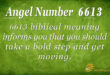 6613 angel number