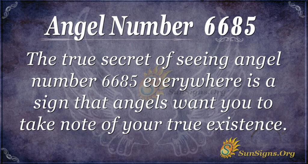 6685 angel number