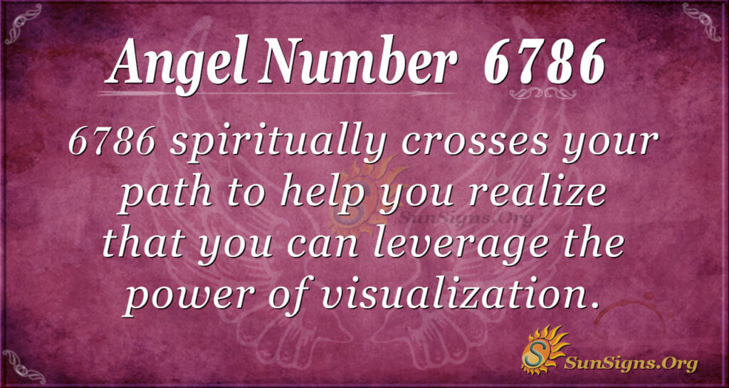 6786 angel number