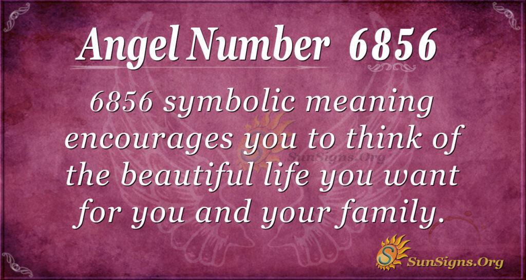 6856 angel number