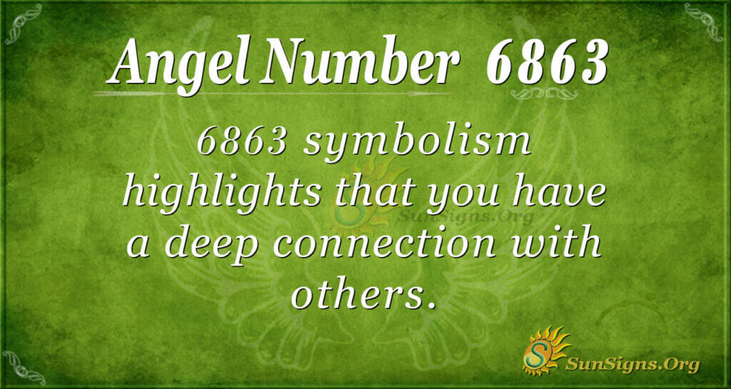 6863 angel number