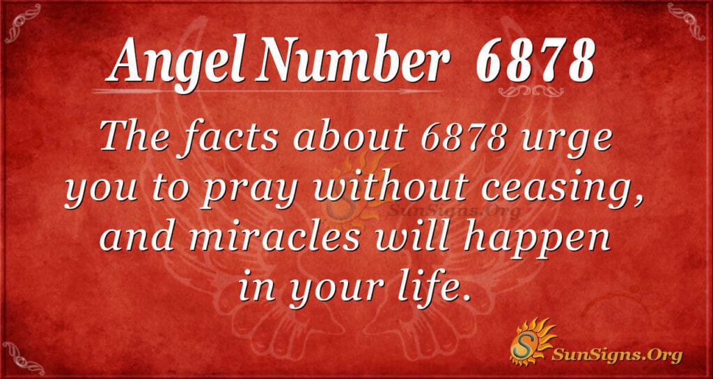 6878 angel number