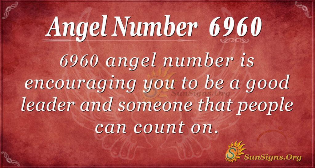 Angel Number 6960