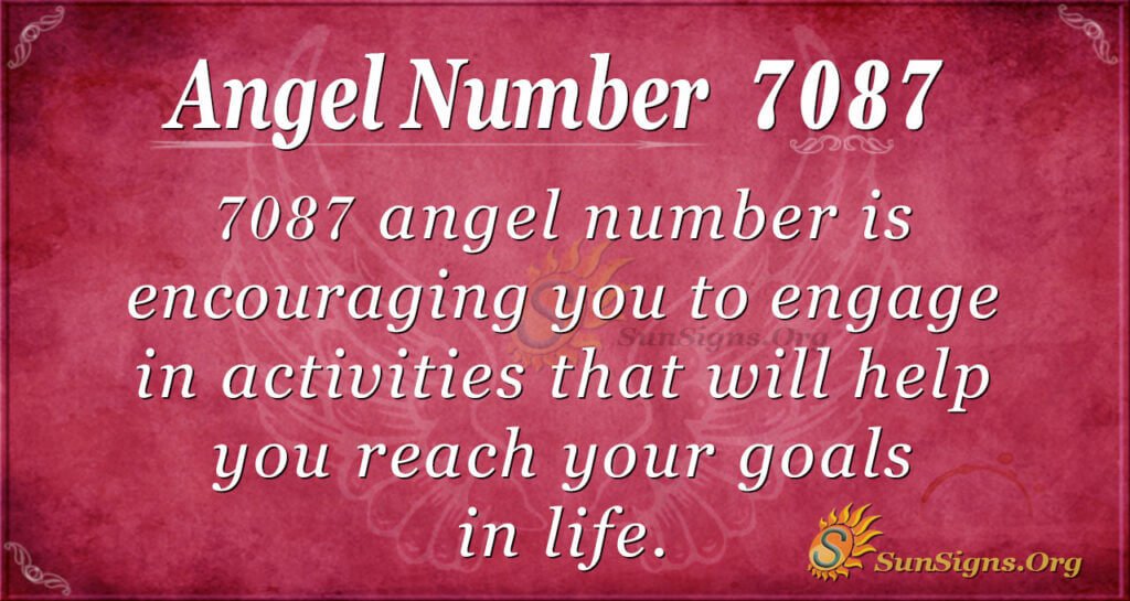 7087 angel number