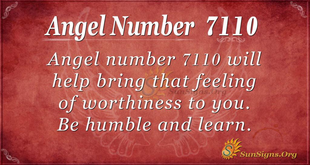 7110 angel number