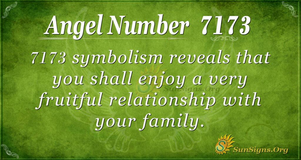 7173 angel number