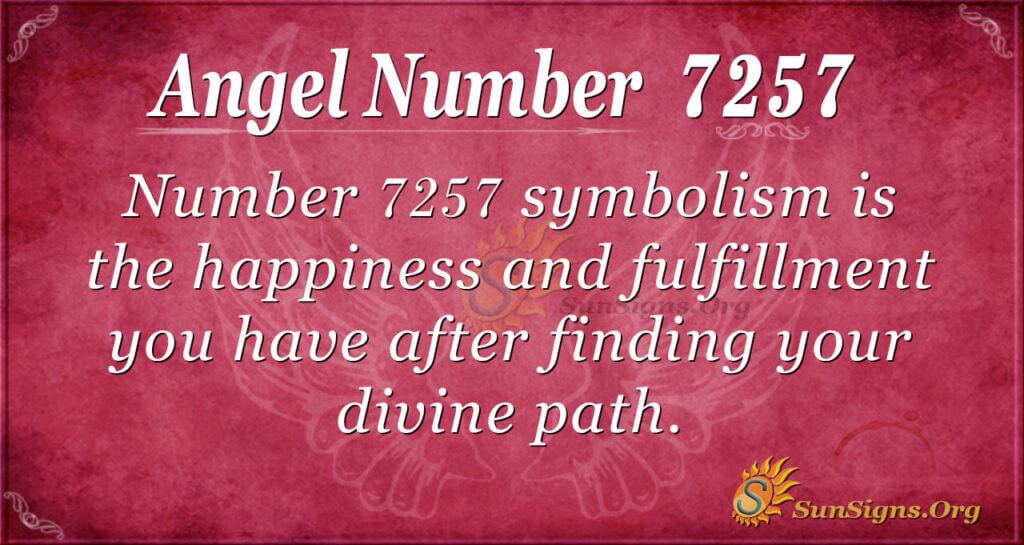 7257 angel number