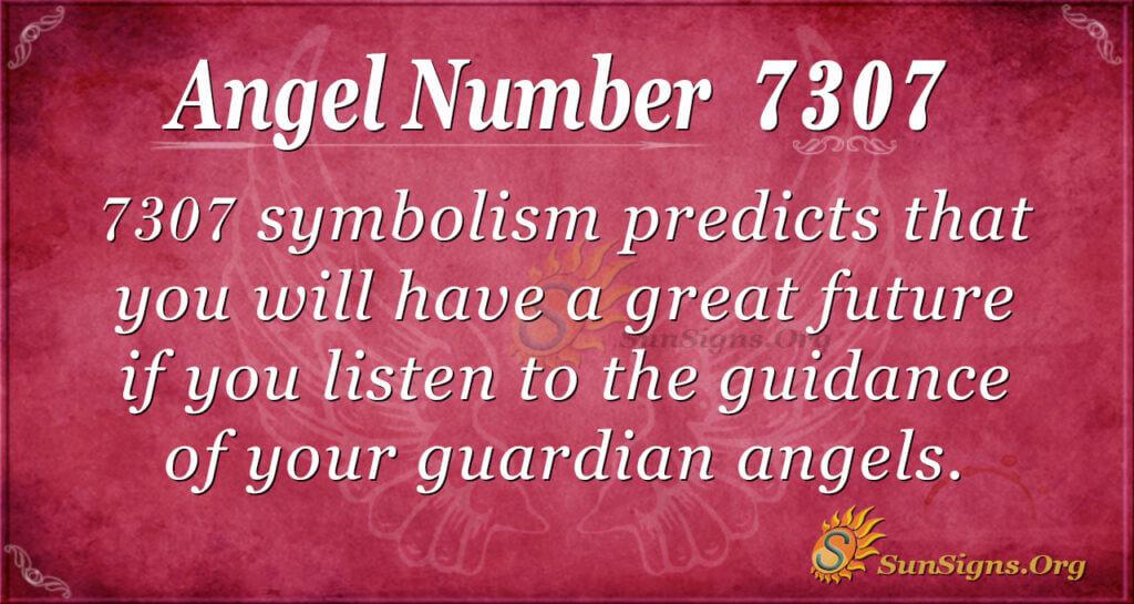 7307 angel number
