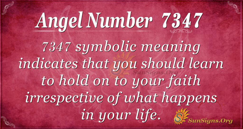 7347 angel number