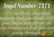 7371 angel number