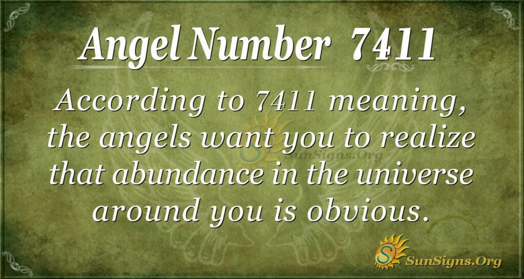 7411 angel number