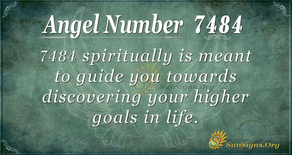 7484 angel number