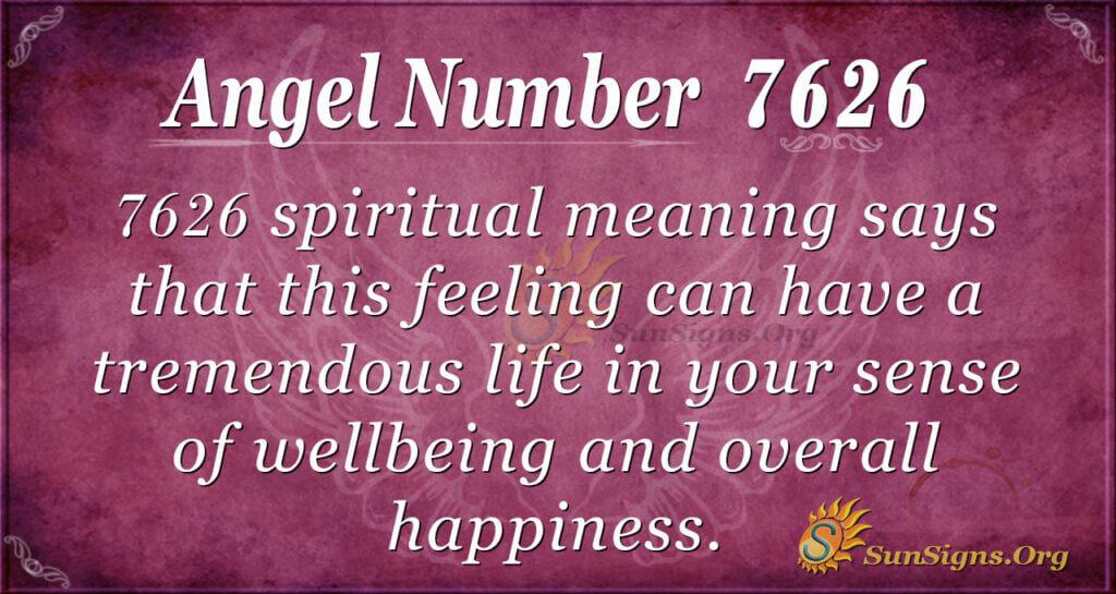 7626 angel number