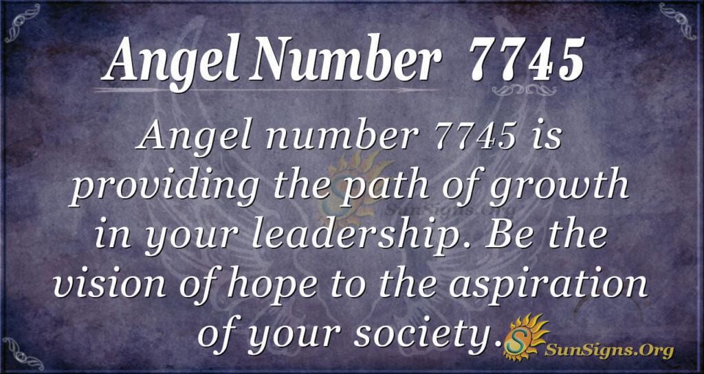 7745 angel number