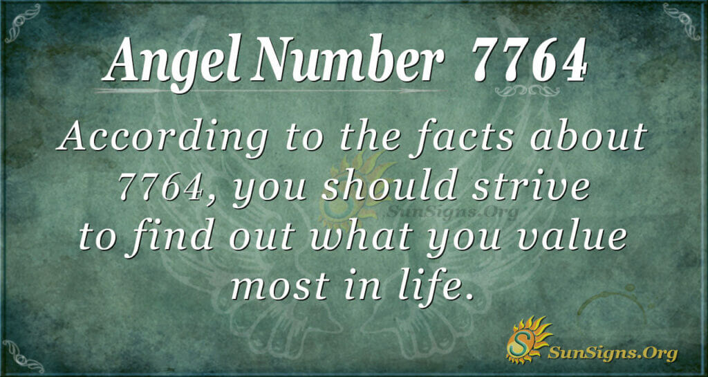 7764 angel number