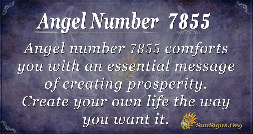 7855 angel number