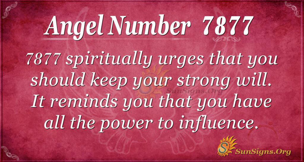 7877 angel number