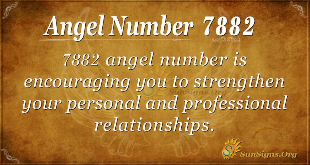 7882 angel number