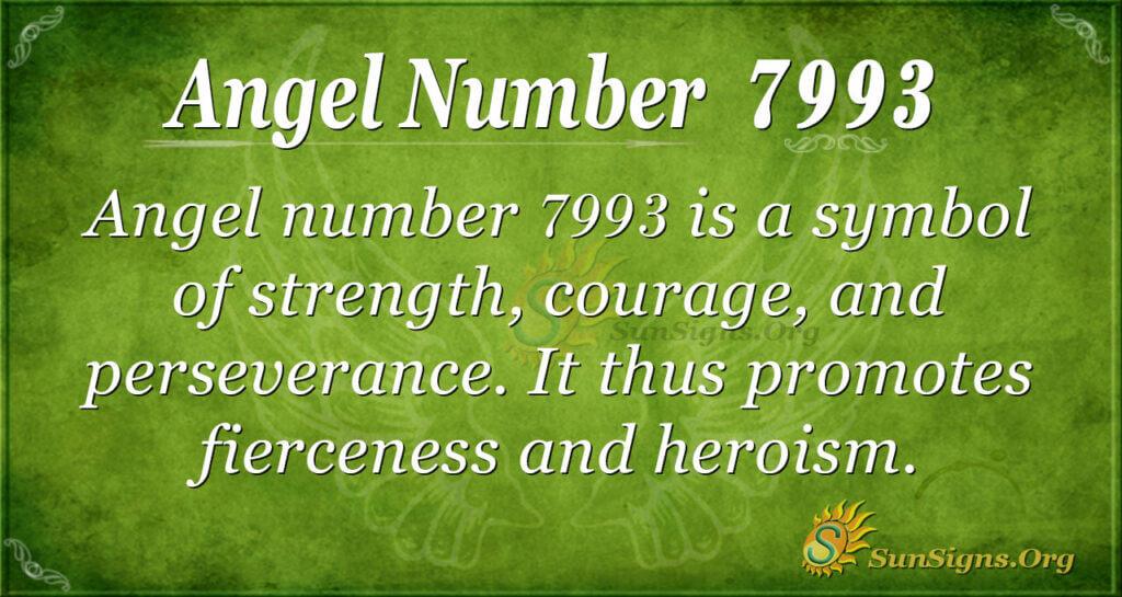 7993 angel number