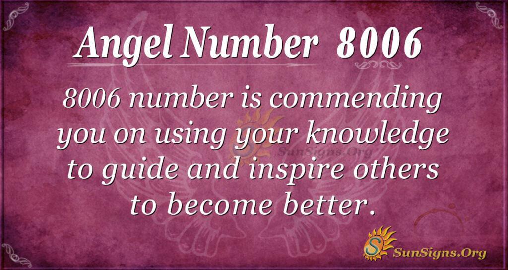 8006 angel number