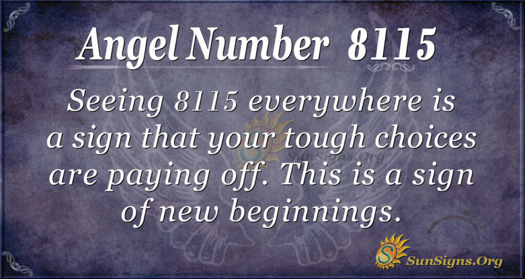 8115 angel number