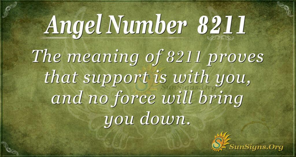 8211 angel number