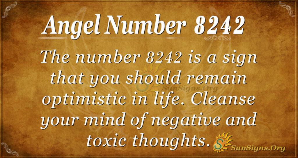 Angel Number 8242