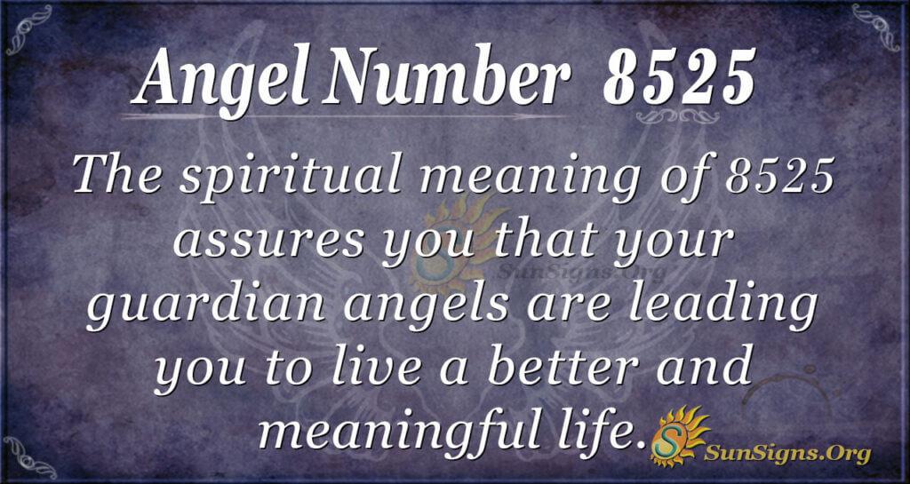 8525 angel number